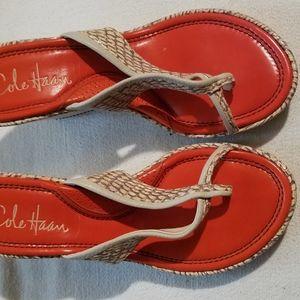 Cole Haan wedges sandals
